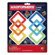 Магнитный конструктор MAGFORMERS Basic Set Line 6 pcs Квадраты 6 701001